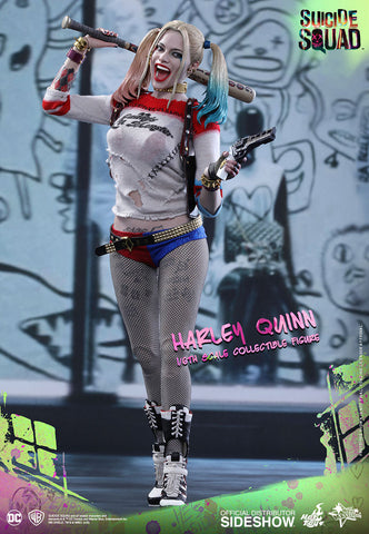 Harley Quinn Suicide Squad 1/6 Scale Movie Masterpiece Figure by Hot Toys - Collectors Row Inc.