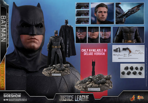 Hot Toys Batman Deluxe Justice League - Movie Masterpiece Series - Sixth Scale Figure - Collectors Row Inc.