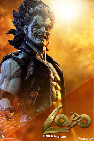 "Lobo DC Comics The Main Man 1/6 Scale 12"" Figure by Sideshow Collectibles - Collectors Row Inc."