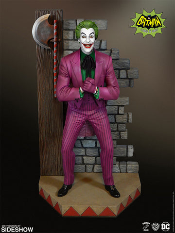 Tweeterhead Joker Batman 1966 TV Series Cesar Romero Maquette
