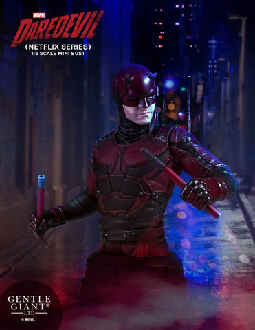 Daredevil Marvel Netflix Series Limited Edition Bust by Gentle Giant - Collectors Row Inc.
