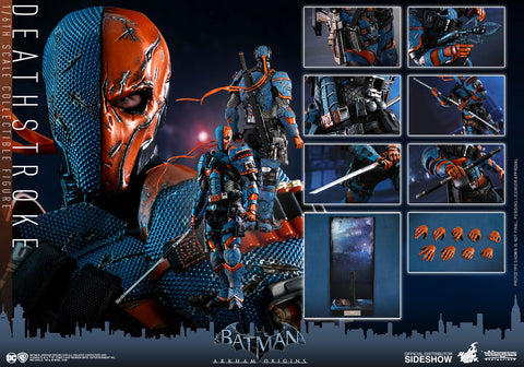 Hot Toys Deathstroke Batman: Arkham Origins - Video Game Masterpiece Series - Sixth Scale Figure - Collectors Row Inc.