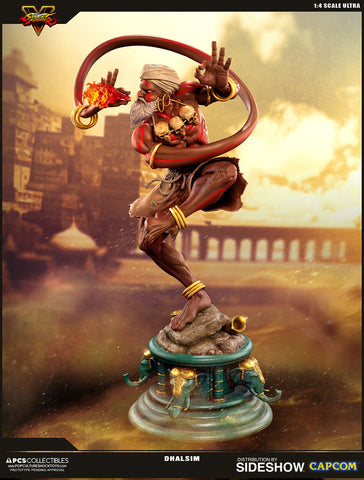 Dhalsim Street Fighter V Statue by PCS Pop Culture Shock - Collectors Row Inc.