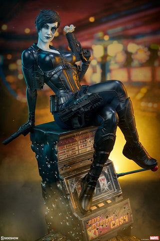 Domino Marvel X-Men Premium Format Figure by Sideshow - Collectors Row Inc.