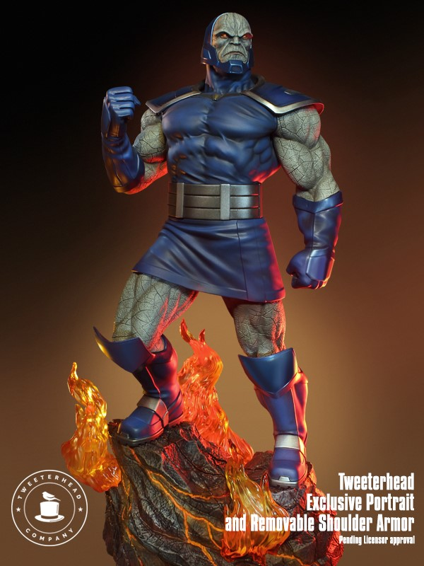 Darkseid Exclusive DC Comics Super Powers Maquette
