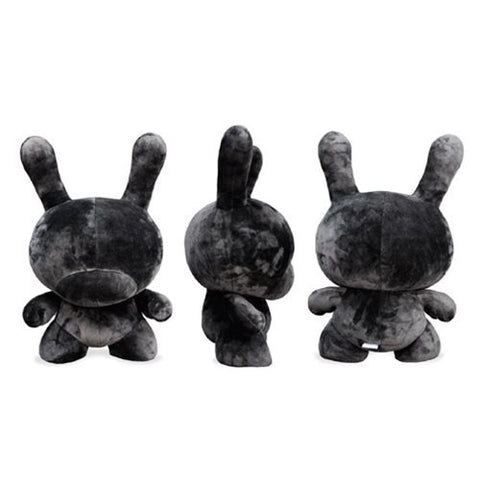 Kidrobot Dunny Black 20-Inch Plush - Collectors Row Inc.