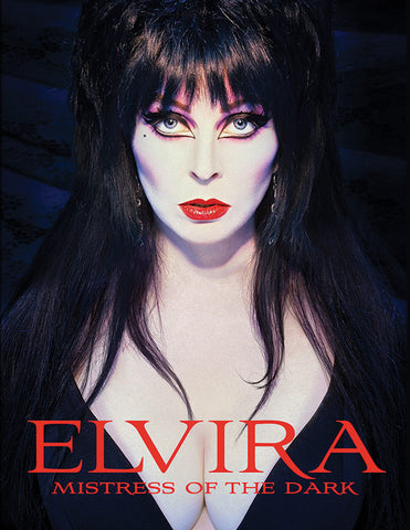 ELVIRA Mistress of the Dark hardcover book by Tweeterhead - Collectors Row Inc.