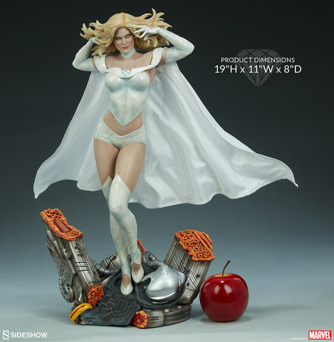 Emma Frost Marvel X-Men Statue Premium Format Figure by Sideshow - Collectors Row Inc.