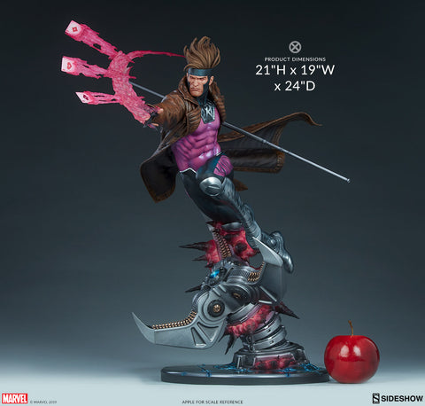 Sideshow Gambit Marvel X-Men Maquette - Collectors Row Inc.