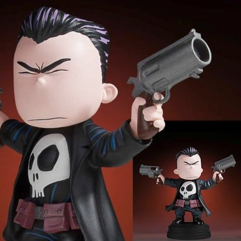 Punisher Animated Marvel Statue by Skottie Young and Gentle Giant Studios - Collectors Row Inc.