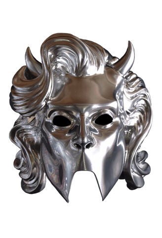 Ghost Nameless Ghouls Chrome Ghoulette Mask by Trick or Treat Studios - Collectors Row Inc.