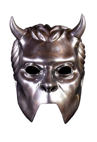Ghost Nameless Ghouls Chrome Mask by Trick or Treat Studios - Collectors Row Inc.