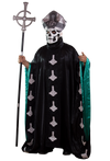Ghost Papa Emeritus II Adult Pope Hat Accessory by Trick or Treat Studios - Collectors Row Inc.
