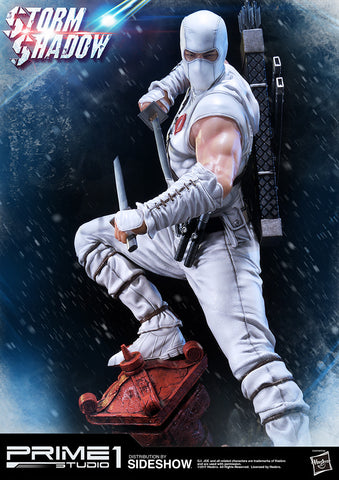 Storm Shadow Statue by Sideshow and Prime 1 Studios - Collectors Row Inc.