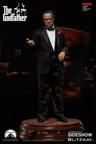 Blitzway GodFather Vito Corleone 1:4 Superb Scale - Statue - Collectors Row Inc.