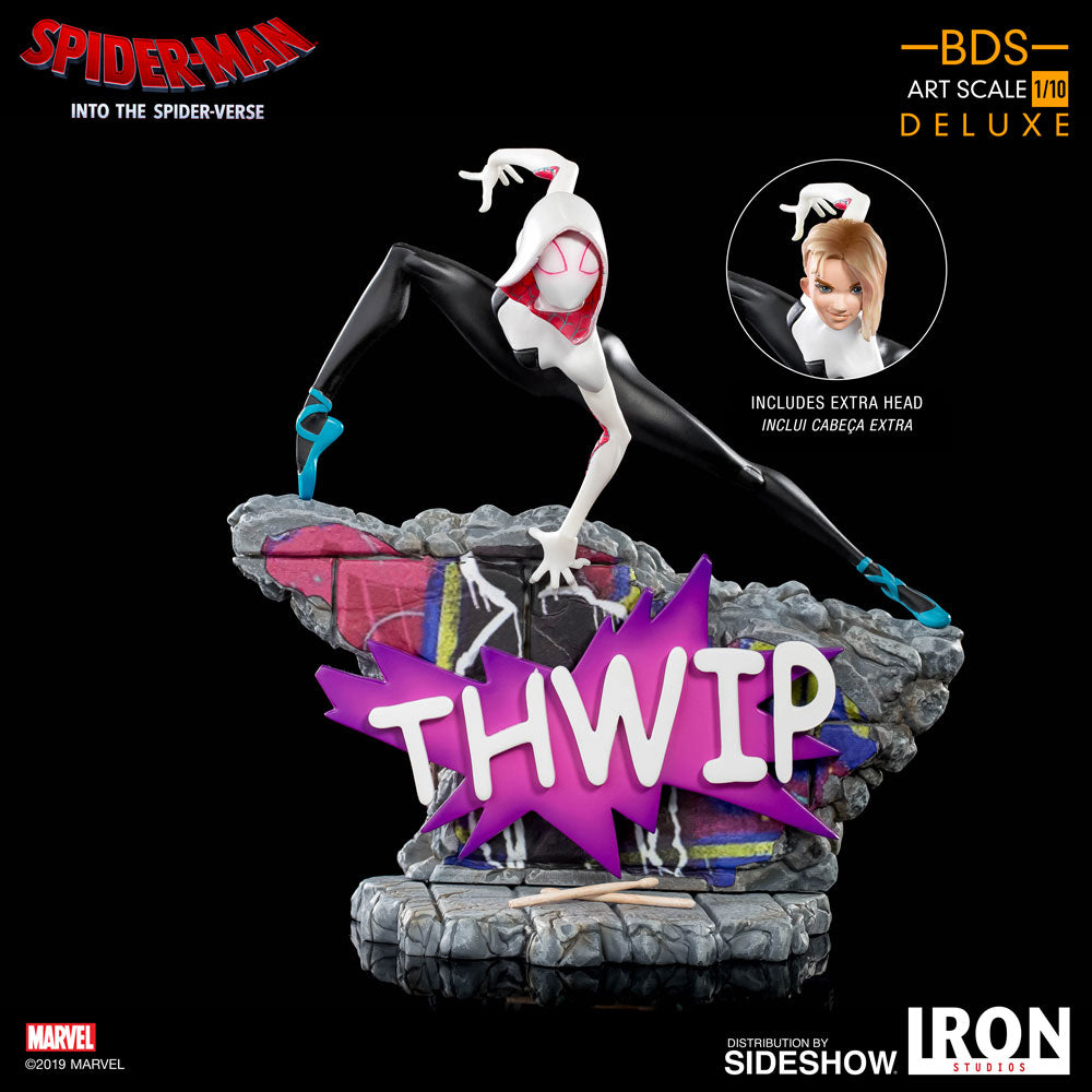 Into the Spiderverse Gwen Stacy Spider-Gwen 1/10th Scale Statue