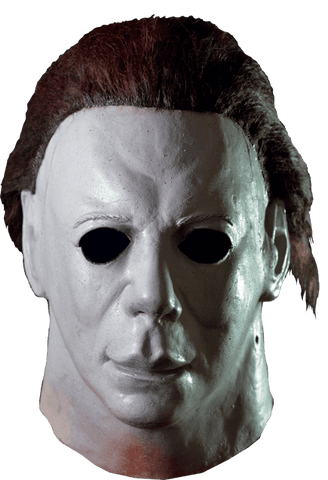 Halloween II Michael Myers Hospital Mask Licensed by Trick or Treat Studios - Collectors Row Inc.