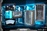 Hot Toys Iron Man 3 Hall of Armor Single Diorama Series Sixth Scale Figure Accessory Case - Collectors Row Inc.
