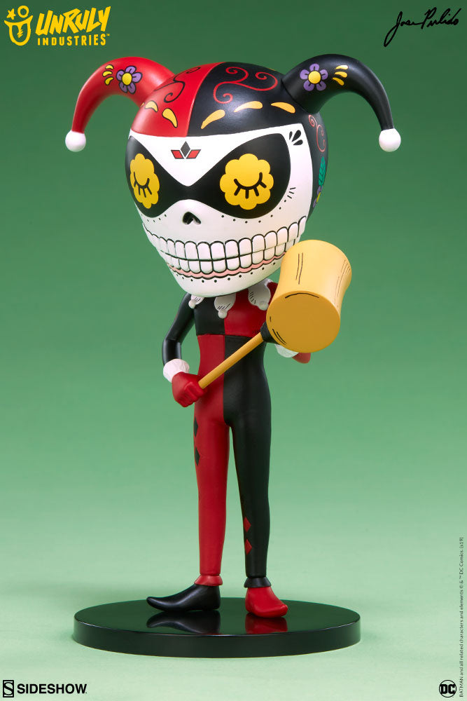 Harley Quinn Calavera Designer Toy - Collectors Row Inc.