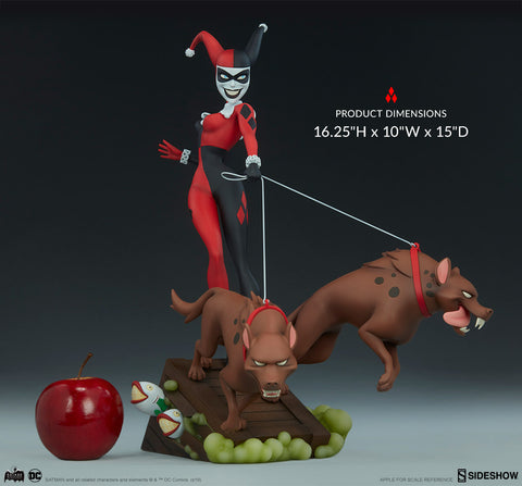 Harley Quinn DC Comics Batman Animated Series Collection Statue by Sideshow Collectibles - Collectors Row Inc.
