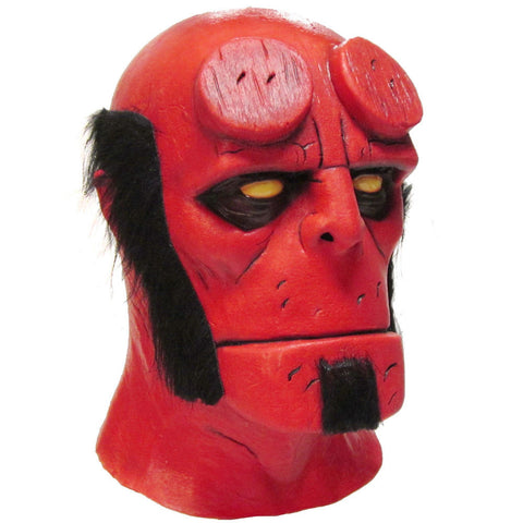Hellboy Halloween Mask Officially Licensed by Trick or Treat Studios - Collectors Row Inc.