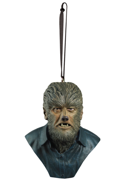 The Wolfman Universal Monsters Holiday Horrors Ornament - Collectors Row Inc.