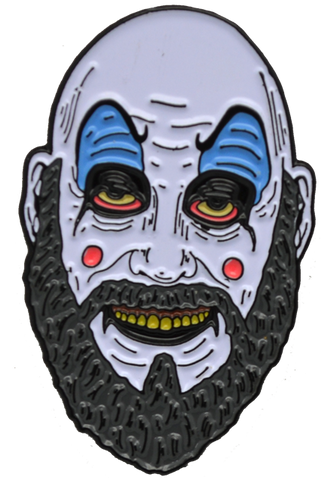 CAPTAIN SPAULDING HOUSE OF 1,000 CORPSES Enamel Pin Officially Licensed Trick or Treat Studios - Collectors Row Inc.
