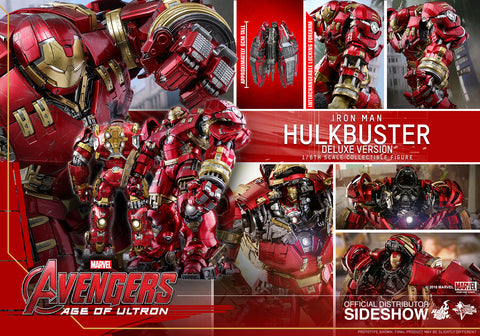 Hot Toys Hulkbuster Deluxe Avengers Age of Ultron  Movie Masterpiece Series Sixth Scale Figure