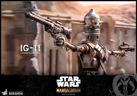 Hot Toys IG-11 The Mandalorian Sixth Scale Figure - Collectors Row Inc.