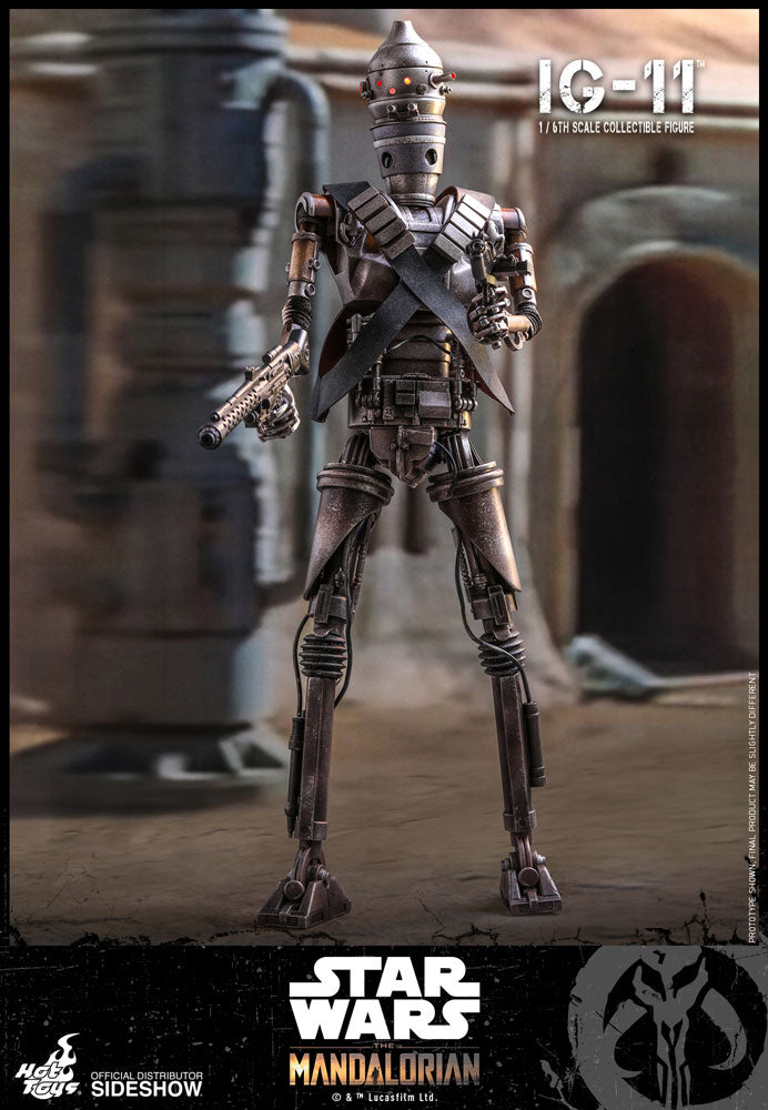 IG-11 The Mandalorian Sixth Scale Figure - Collectors Row Inc.