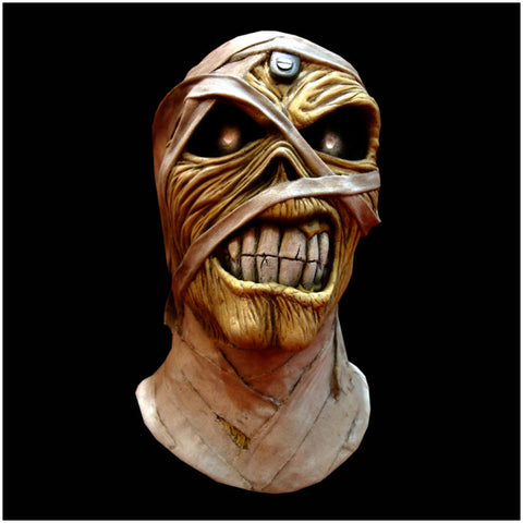 Iron Maiden Eddie Powerslave Mummy Mask by Trick or Treat Studios - Collectors Row Inc.