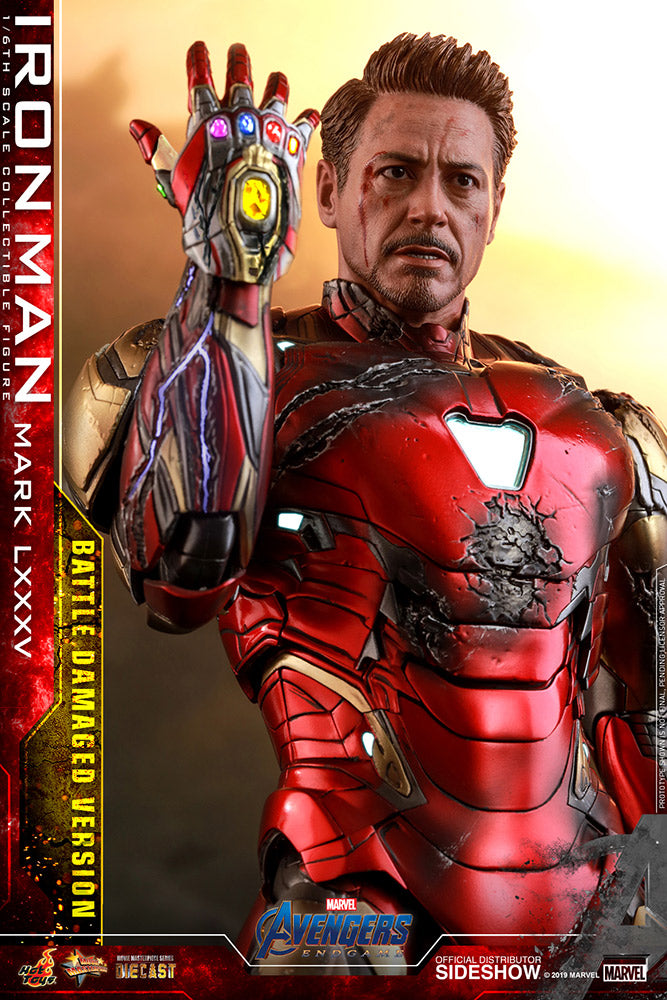 Iron Man Mark LXXXV (Battle Damaged Version) - Collectors Row Inc.
