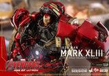 Hot Toys Iron Man Mark XLIII Avengers Age of Ultron Marvel Diecast 1/6 Scale Figure - Collectors Row Inc.
