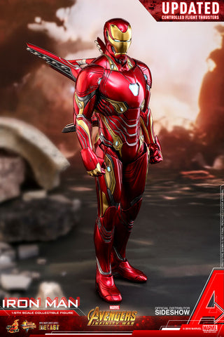 Hot Toys Iron Man Mark L Infinity War Avengers Diecast Marvel 1/6 Scale  Figure