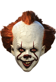 IT Pennywise Deluxe Edition Mask by Trick or Treat Studios - Collectors Row Inc.