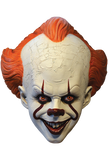 IT Pennywise Standard Edition Mask by Trick or Treat Studios - Collectors Row Inc.