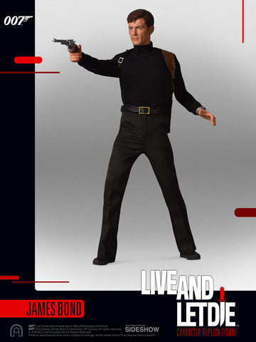 Big Chief Studios James Bond Roger Moore Live and Let Die 1/6 Scale Figure - Collectors Row Inc.
