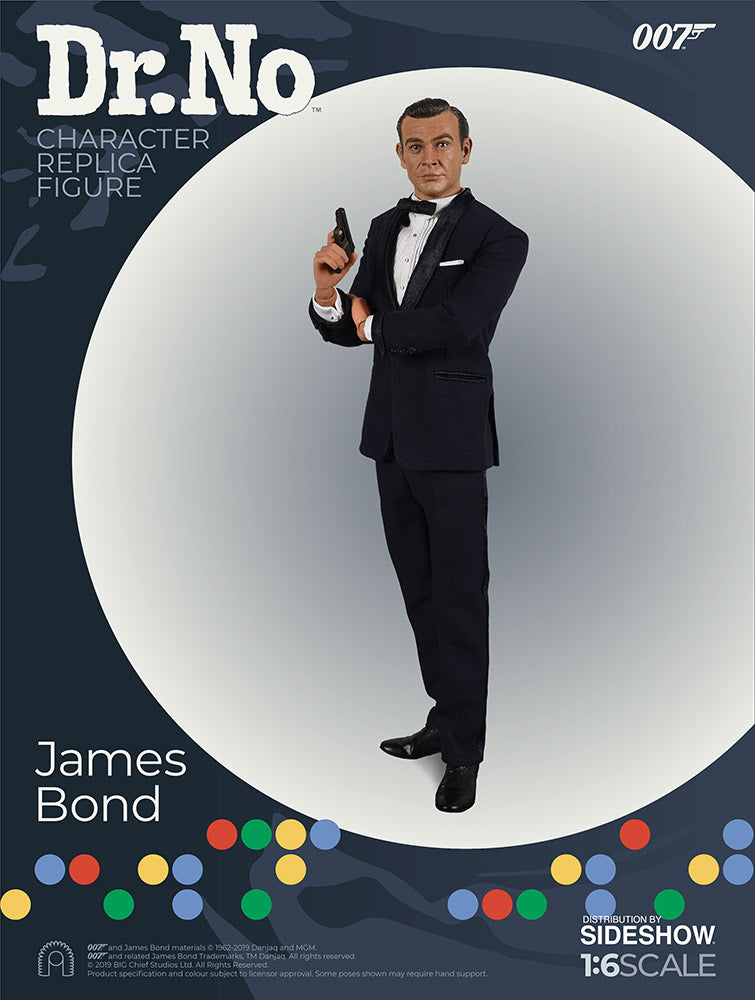 James Bond 007 Dr. No Sixth Scale Figure by BIG Chief Studios - Collectors Row Inc.