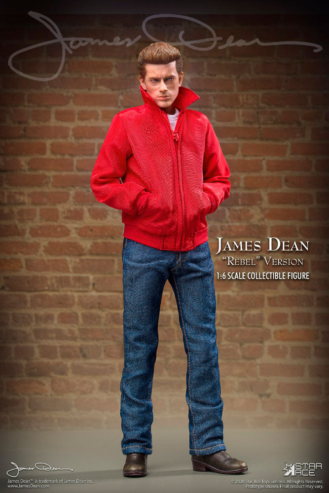James Dean (Rebel Version) Sixth Scale Figure