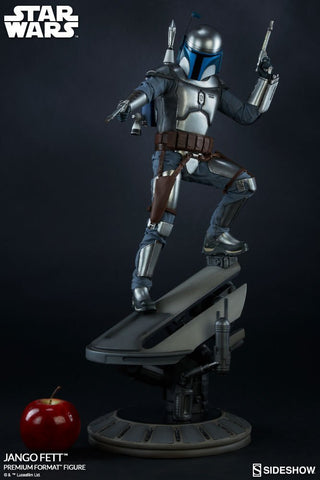 Jango Fett Premium Format Figure by Sideshow Collectibles - Collectors Row Inc.