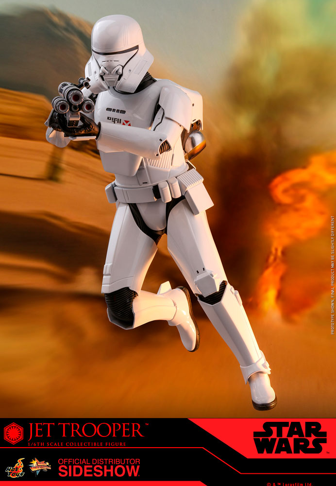 Jet Trooper The Rise of Skywalker Sixth Scale Figure - Collectors Row Inc.