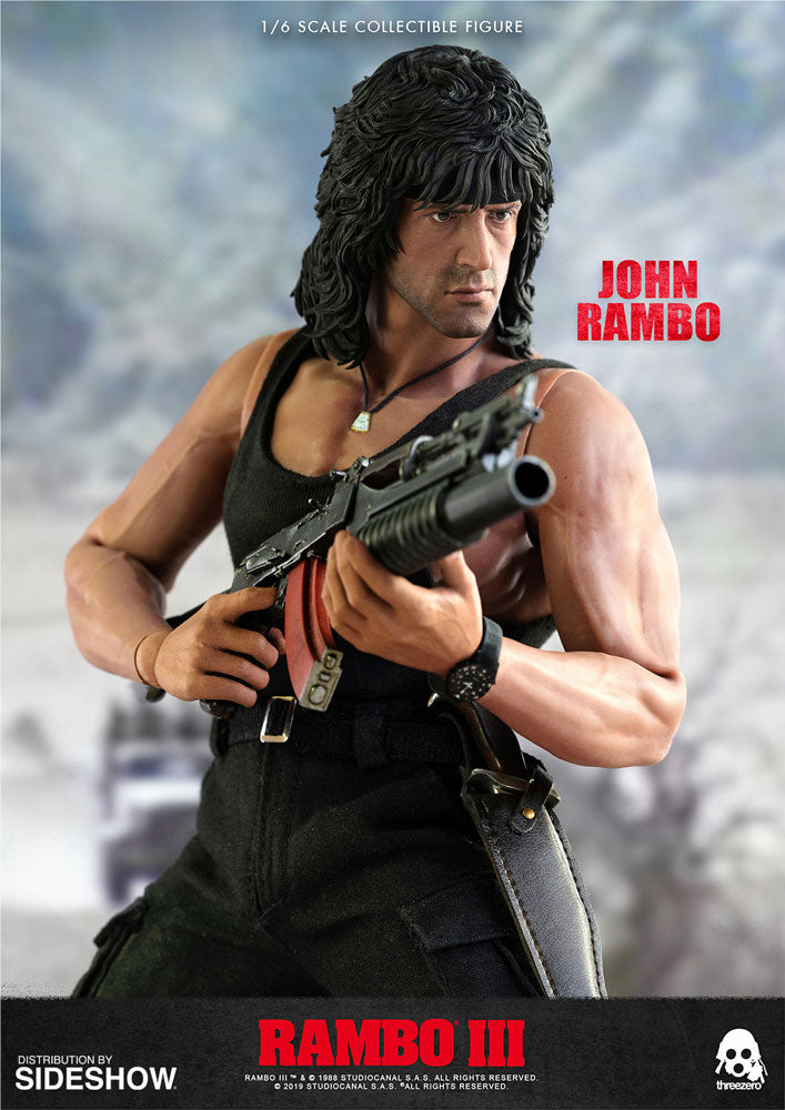 John Rambo Sixth Scale Figure by Threezero - Collectors Row Inc.