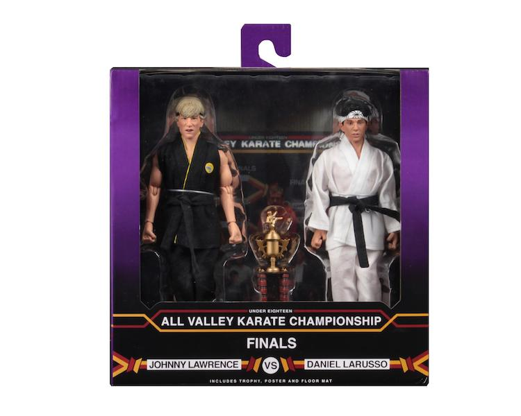 "NECA - Karate Kid (1984) - 8"" Clothed Action Figure - Tournament 2 Pack - Collectors Row Inc."