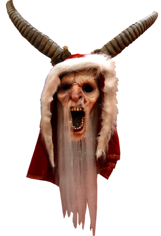 Krampus Michael Dougherty's Halloween Mask by Trick or Treat Studios - Collectors Row Inc.