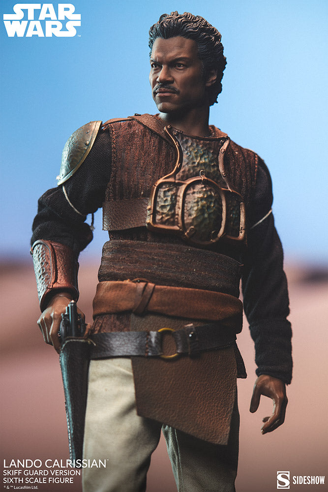 Lando Calrissian (Skiff Guard Version) Sixth Scale Figure