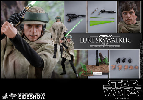 Hot Toys Star Wars Return of Jedi Luke Skywalker 1/6 Scale Figure - Collectors Row Inc.