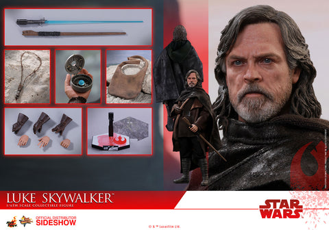 Hot Toys Luke Skywalker Star Wars: The Last Jedi - Movie Masterpiece Series - Sixth Scale Figure - Collectors Row Inc.