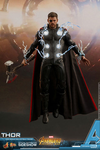 Hot Toys Thor Avengers: Infinity War - Movie Masterpiece Series - Sixth Scale Figure - Collectors Row Inc.