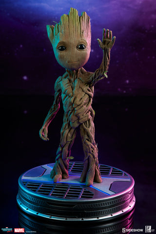 Groot Guardians of the Galaxy Vol 2 1:1 Scale Life Size Maquette by Sideshow Collectibles - Collectors Row Inc.