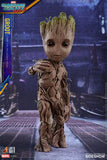 Groot Life-Size Guardians of the Galaxy Vol. 2 Collectible Figure by Hot Toys - Collectors Row Inc.